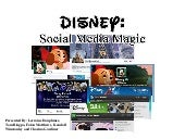 Disney: Social Media Magic