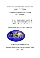 Dispache   memoire