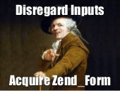 Disregard Inputs, Acquire Zend_Form