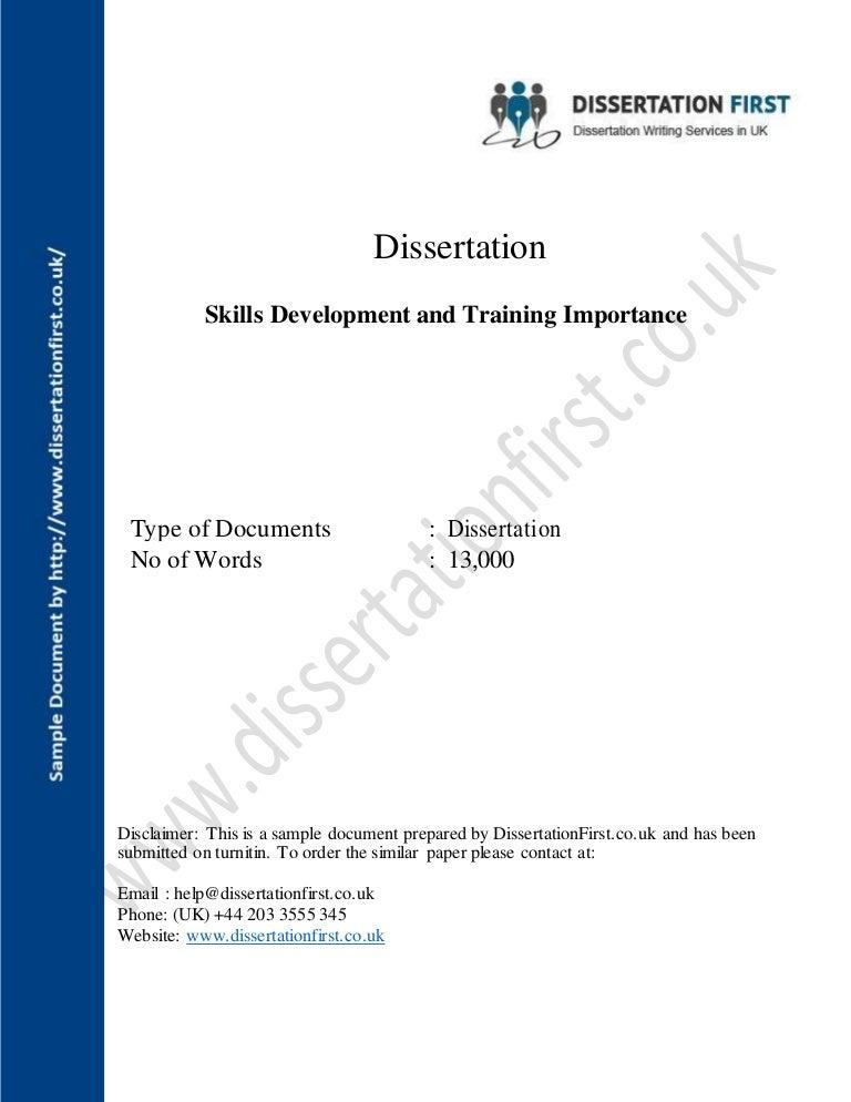 Dissertation questionnaire disclaimer