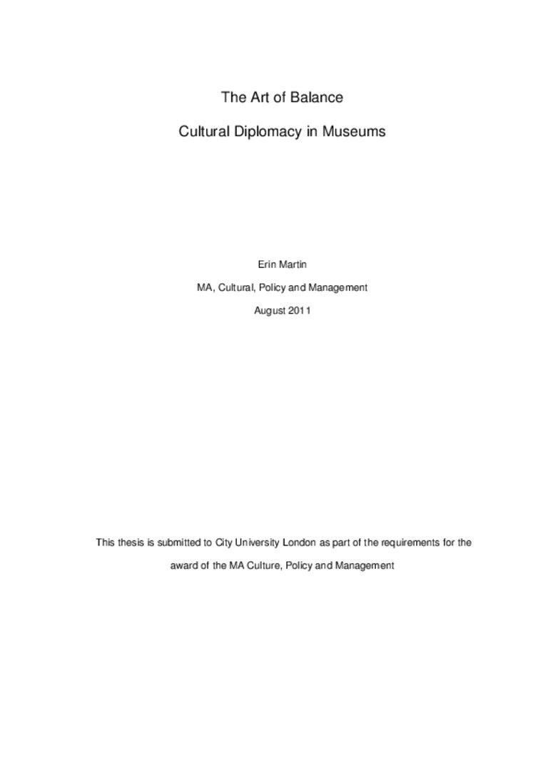 Dissertation art