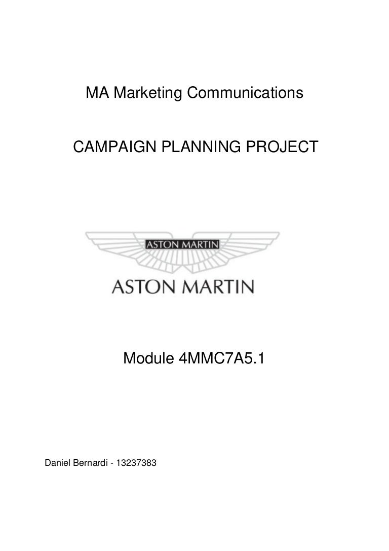 Dissertation project marketing of services