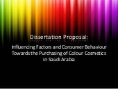 Dissertation Proposal Ppt