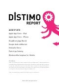 Distimo report   August 2010