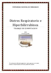 Distres respiratorio. word