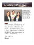 District 25 News, March 2011