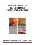 Household Debt and Credit - Quarterly Report, May 2013