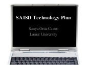 District tech plan