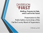 Diversion First: Briefing, Progress-to-Date, and a Look to the Future