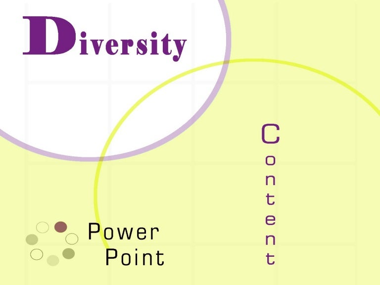 Diversity training business plan
