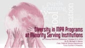Diversity in MPA Programs at Minori...