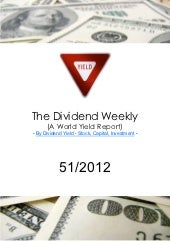 Dividend Weekly World 51 2012 by ht...