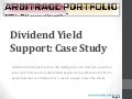 Dividend Yield Support: Case Study – BPT BP Prudhoe Bay Royalty Trust | ArbitragePortfolio.com