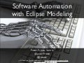 Software Automation with Eclipse Modeling