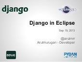 Django in Eclipse