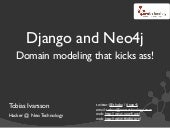 Django and Neo4j - Domain modeling ...