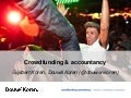 Douw&Koren - Crowdfunding Day - Crowdfunding & Accountancy