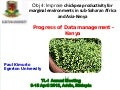 TLI 2012: Data management for chickpea breeding - Kenya