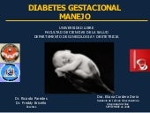 Diabetes Gestacional, Management