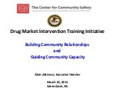 Drug Market Intervention Training I...