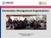Destination Management Organization...