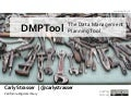 Cal Poly - Data Management and the DMPTool