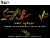 Evaluating Impact: NLab, Amplified ...