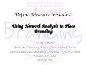 Define Measure Visualize: Using Net...