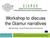 Damian Maye - GLAMUR Workshop