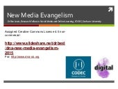 DNA: New Media Evangelism (2015)