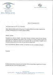 IDCC 1431 : Dénonciation accord formation