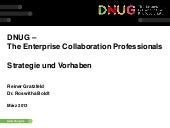 We4IT LCTY 2013 - DNUG - Strategie ...