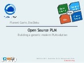 Open Source PLM, OW2con11, Nov 24-2...