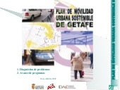 Plan de movilidad sostenible de Getafe