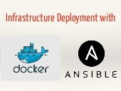 Infrastructure Deployment with Docker & Ansible