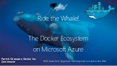 Devoxx France 2015 - The Docker Orchestration Ecosystem on Azure