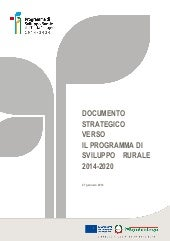 Documento strategico PSR 2014-2020 ...