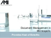 Document Management in Minneapolis ...