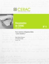 Documento CERAC No. 6: Peace Labora...