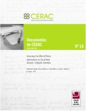 Documento CERAC No. 14: Assessing t...
