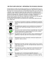 Documento De Inteligencias En Pdf P...