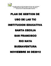 Documento del plan de gestion y uso...