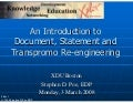 Document Reengineering Introduction