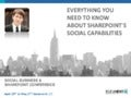 Everything You Need To Know About SharePoint's Social Capabilities - Document Strategy Forum
