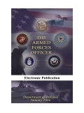 Dod Us Forces Armed Forces Officer Handbook