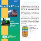 Doe diesel fuel prices