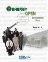 Energy Open Gov Plan