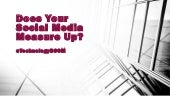 Does Your Social Media Measure Up - Yenni Vance