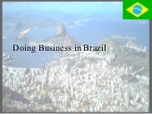 Doing Businessin Brazil
