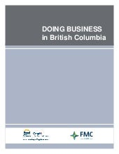 Doing Business in British Columbia